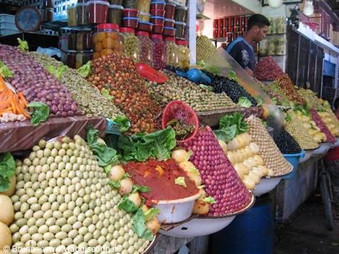 foto Colori della Medina di Meknes MAROCCO