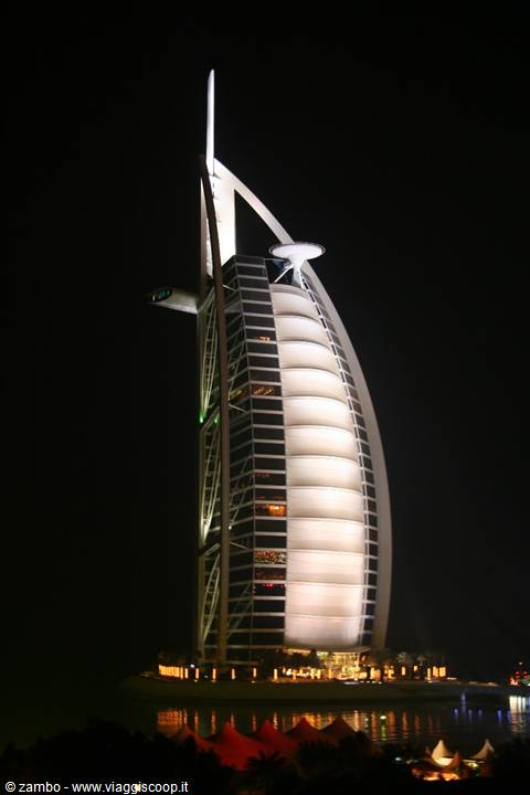 Dubai emirati arabi uniti for Burj al arab per night