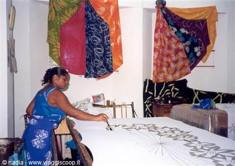 Batik tessuto