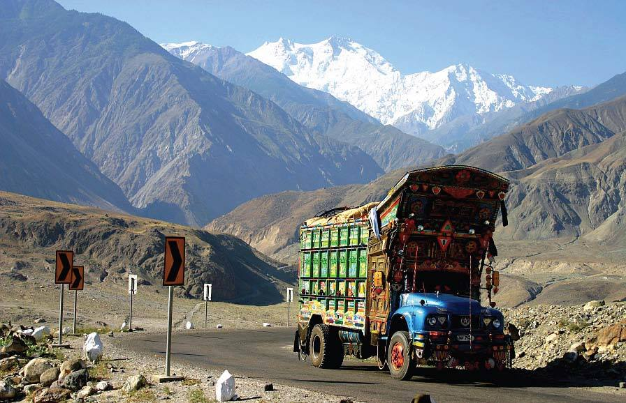 l'incredibile <strong>Karakoram Highway</strong> Pakistan