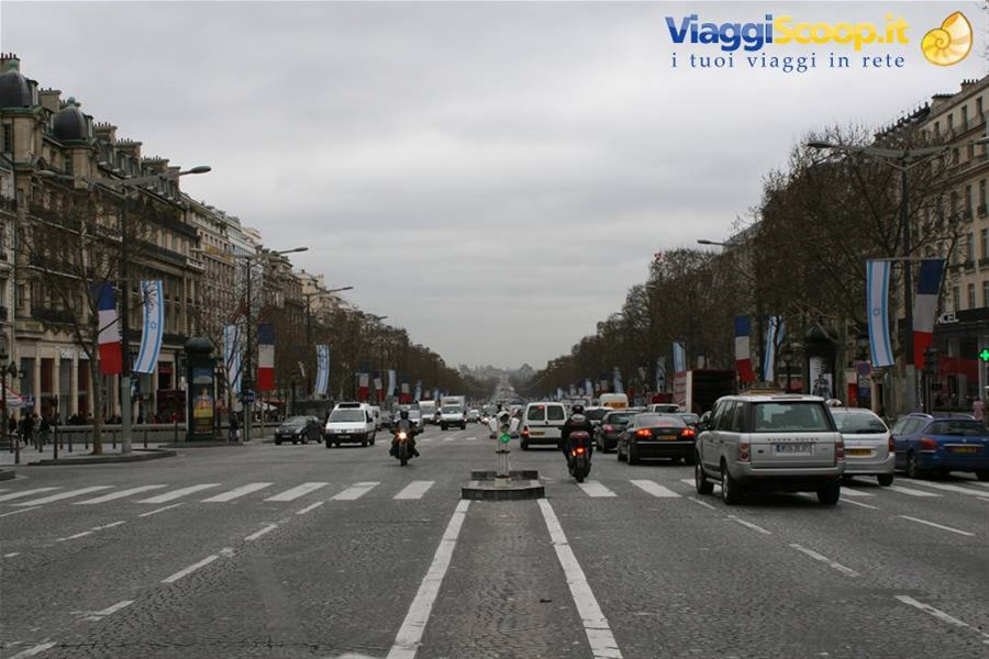 Champs Elysees FRANCIA