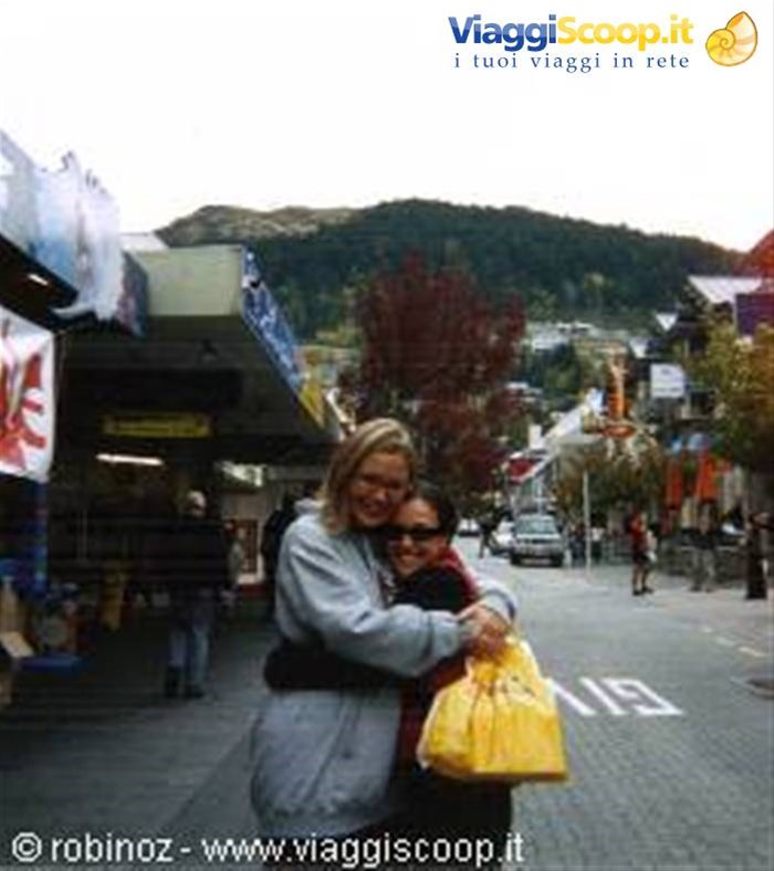 Louise ed io a Queenstown NUOVA ZELANDA