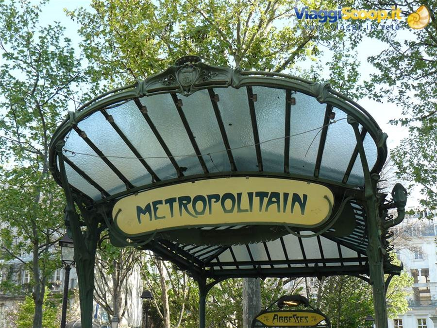 Metro Paris - Abesses FRANCIA