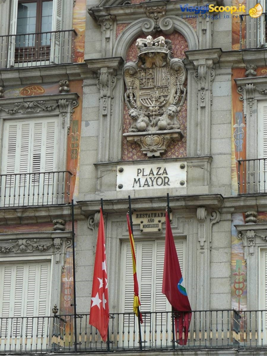 Madrid - Plaza Mayor SPAGNA