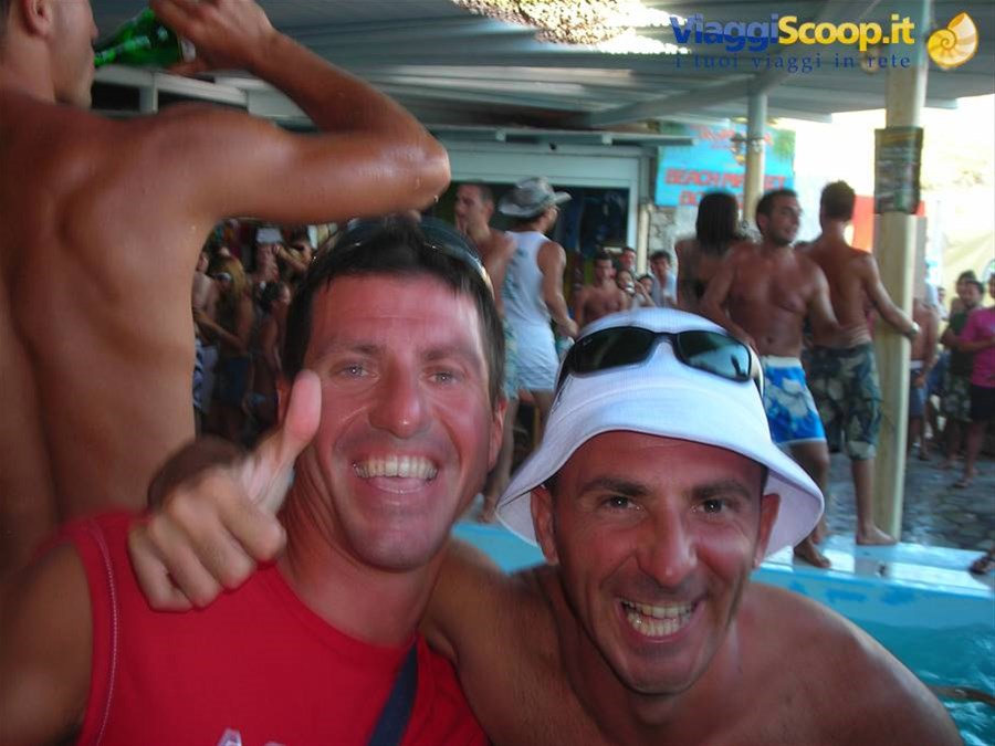 io e gringhio al tropicana party GRECIA