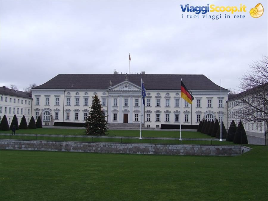 BERLINO - Lo Schloss Bellevue GERMANIA
