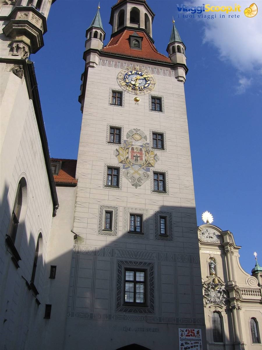 Monaco, Altes Rathaus GERMANIA