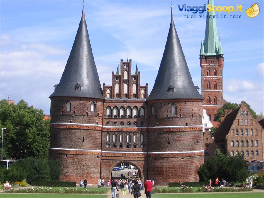 Lubecca, Holstentor GERMANIA