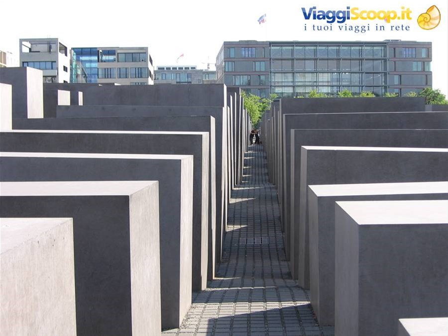 Berlino, Memoriale dell'Olocausto GERMANIA