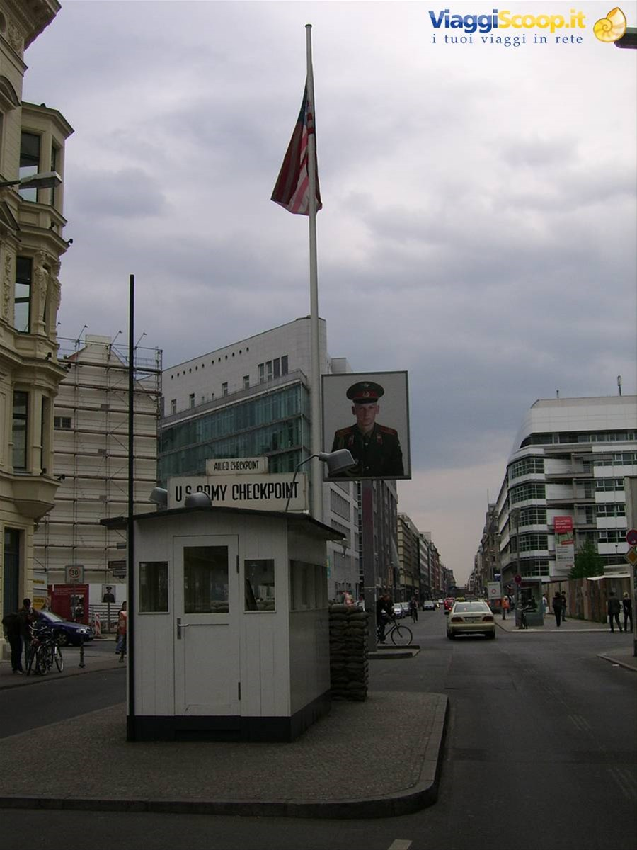 checkpoint Charlie GERMANIA