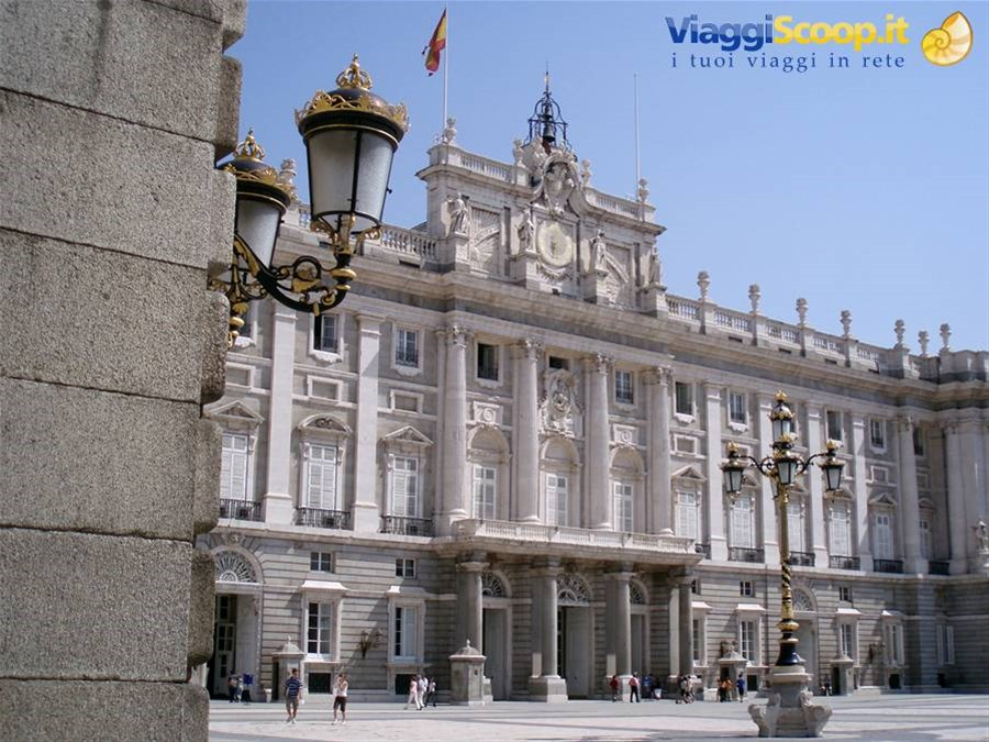 Madrid - Palazzo Reale SPAGNA