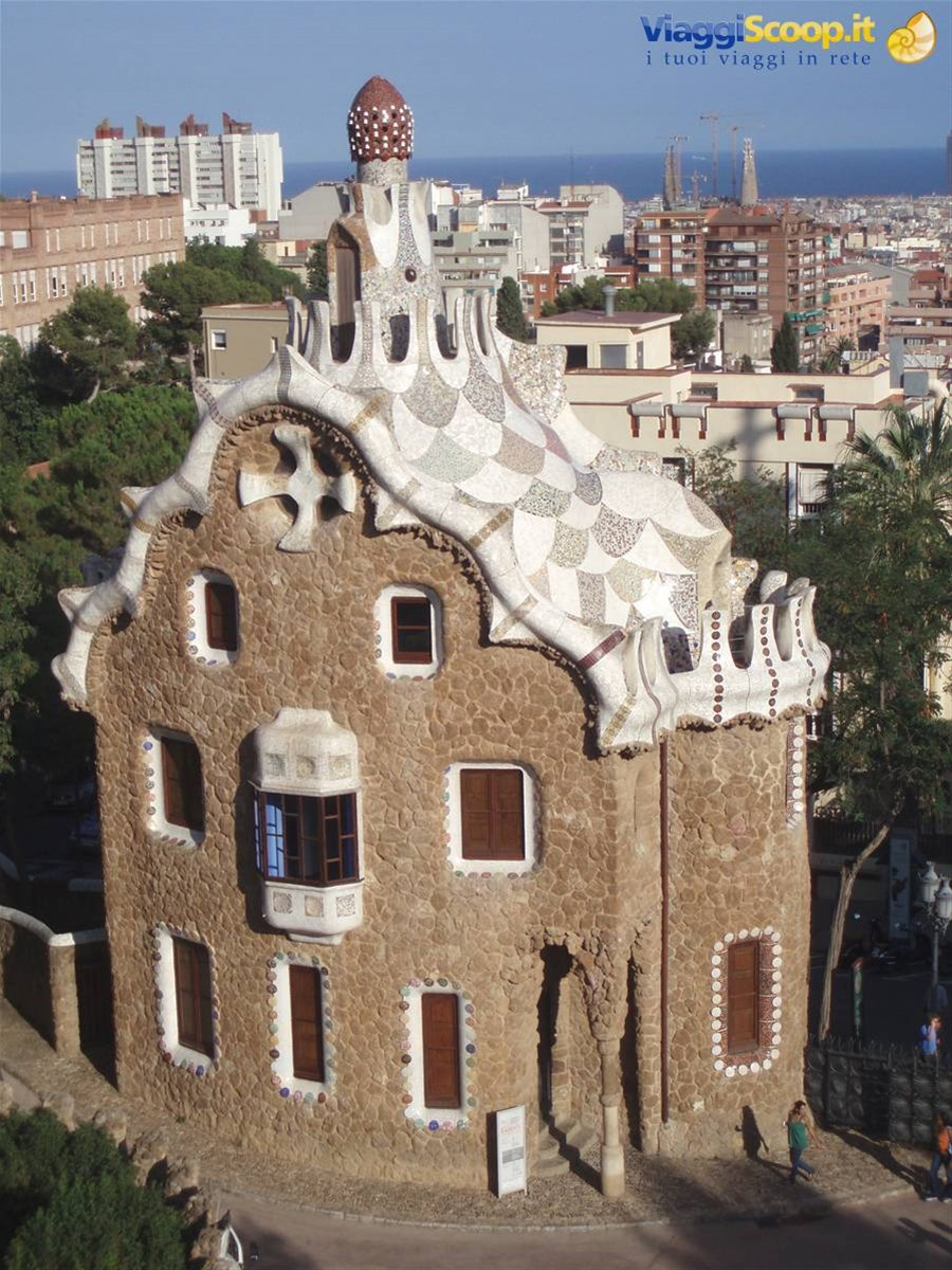 Barcellona - Parc Guell SPAGNA