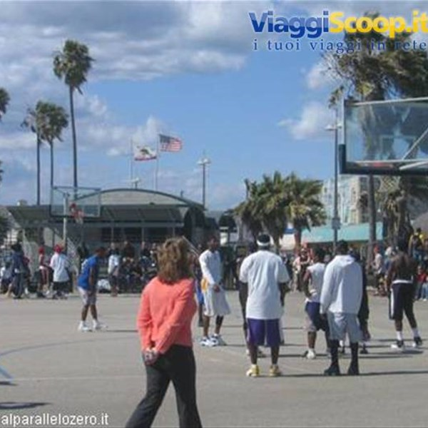 NBA in Venice Beach