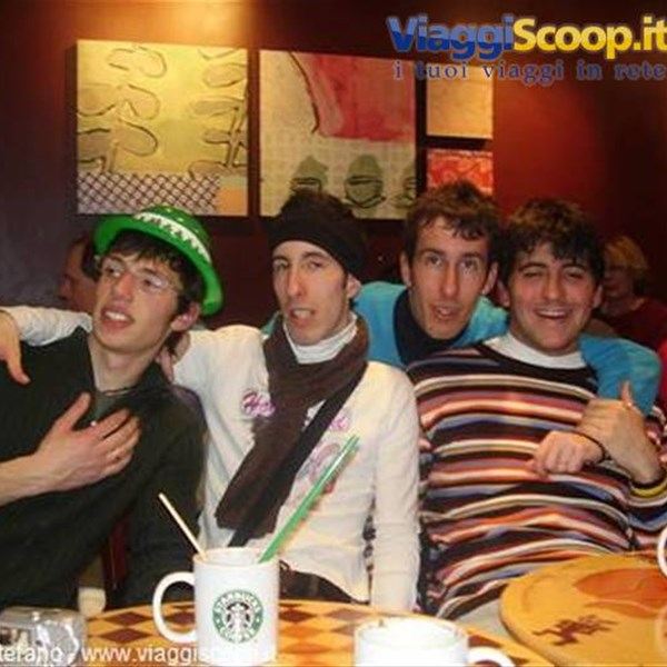 Mike, Mauro, Stefano e Ceco da STARBUCKS COFFEE
