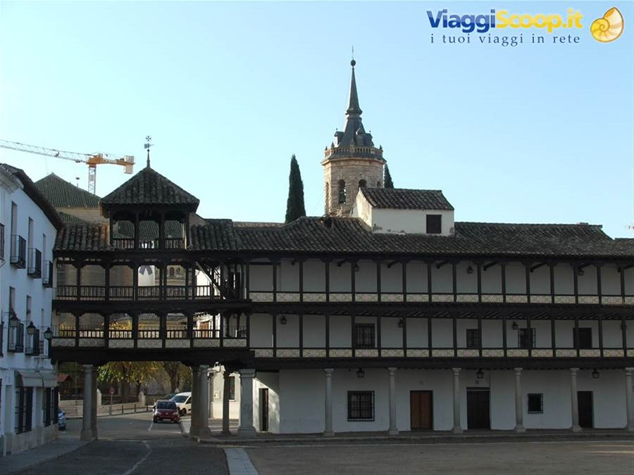 Tembleque, Plaza Mayor SPAGNA