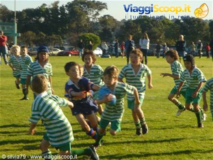 kids playing rugby NUOVA ZELANDA