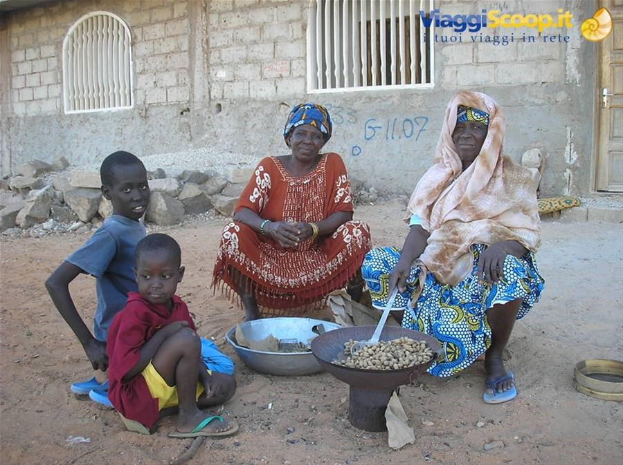 come cucinare le arachidi! SENEGAL