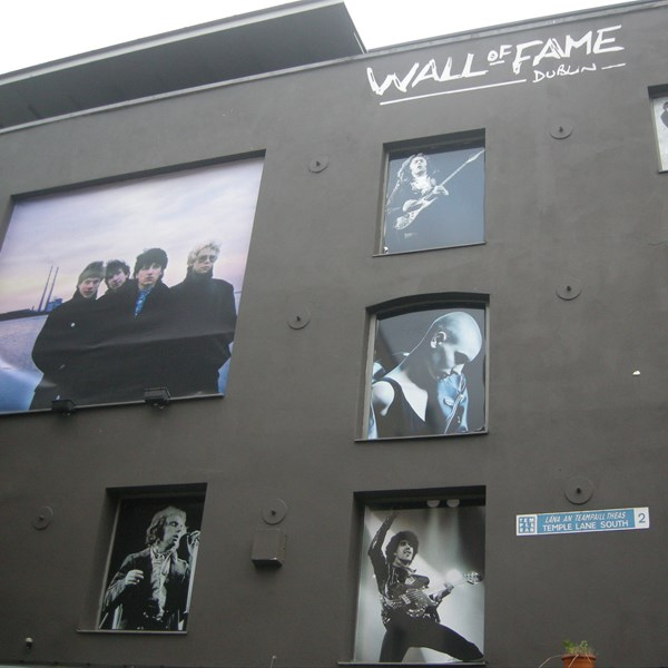 Wall of fame - Dublin