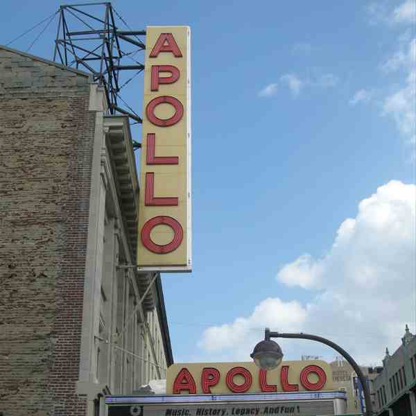 Il mitico Apollo Theater ad Harlem