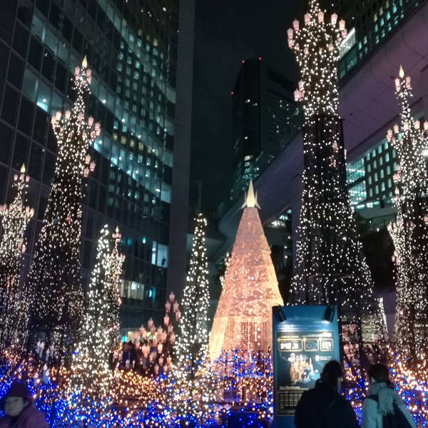 Winter Illumination - Shiodome Caretta