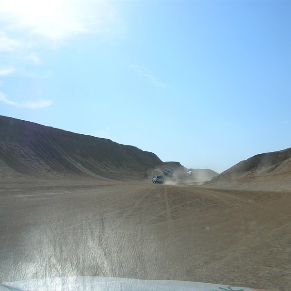 in jeep sulle dune