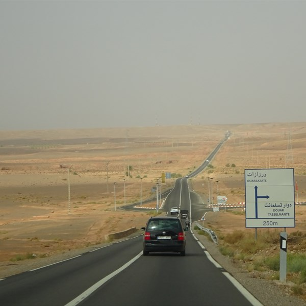 Marocco on the road - In viaggio per Ouarzazate