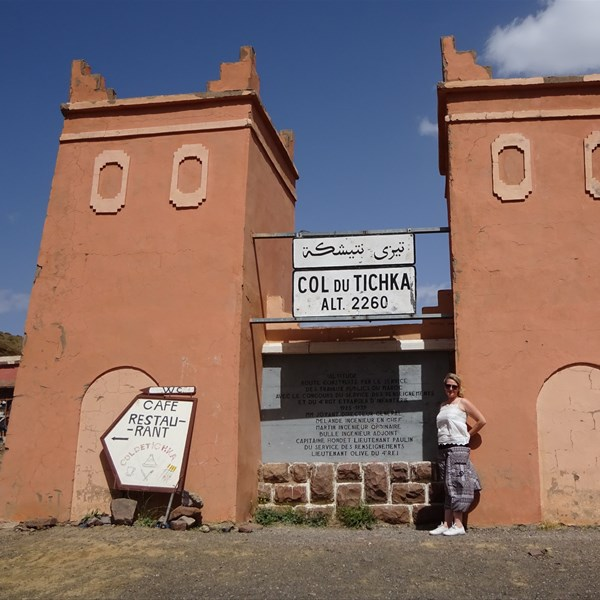 Marocco on the road - In viaggio per Marrakech - Col du Tchika