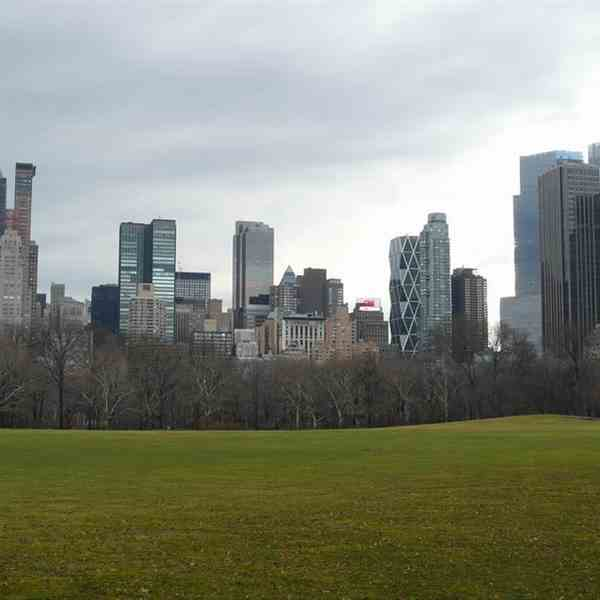 Midtown Manhattan da Central Park