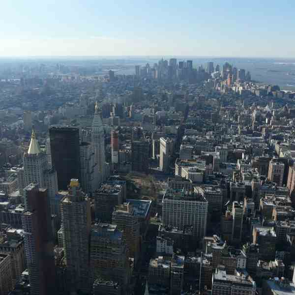 Lower & Downtown Manhattan-Dall'Empire State Building