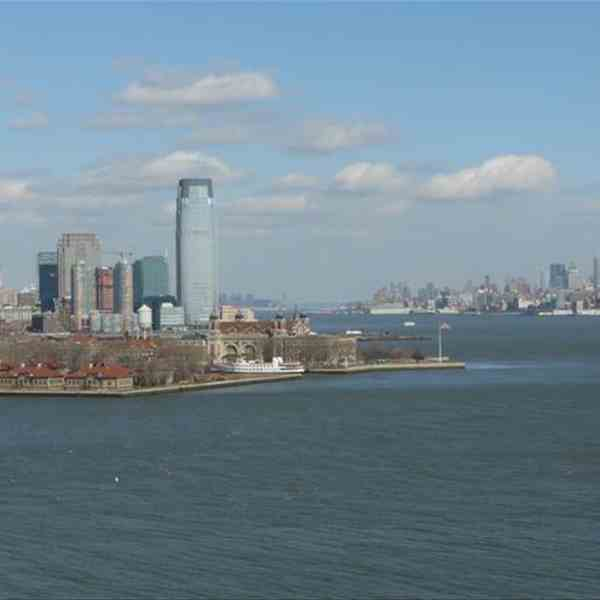 Ellis Island-Sx New Jersey-Dx Manhattan
