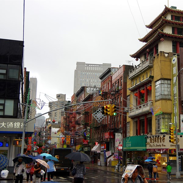 New York - Mott Street (Chinatown)