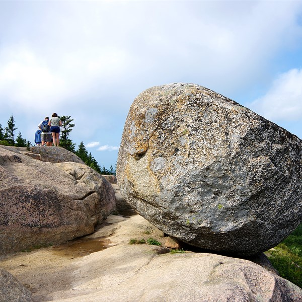 Acadia National Park - Bubble Rock