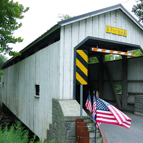 Contea di Lancaster - Keller's Mill Covered Bridge
