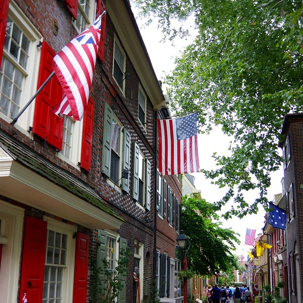 Philadelphia - Elfreth's Alley
