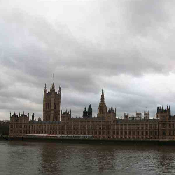 Londra - The House of Parlament e il Big Ben