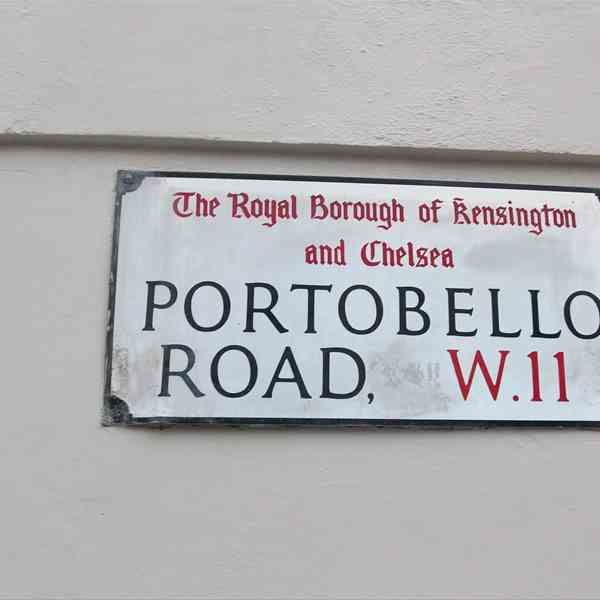 Londra - Portobello Road
