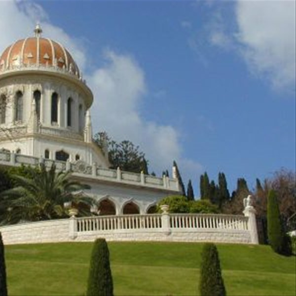 simbolo di Haifa, il Bahai Shrine