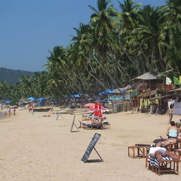 Goa, Palolem beach