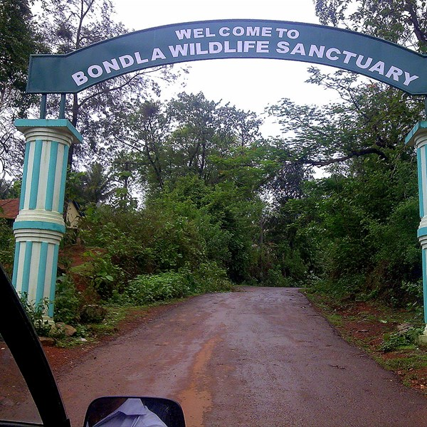 Goa, Bondla wildlife sanctuary