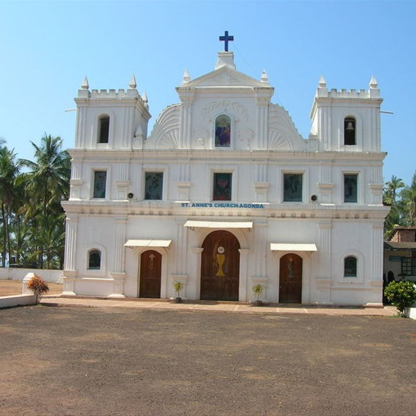 Agonda, S.te Anna church