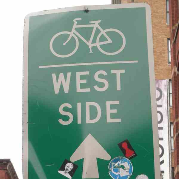 West Side by bike