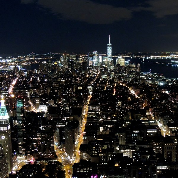 Manhattan by nigth