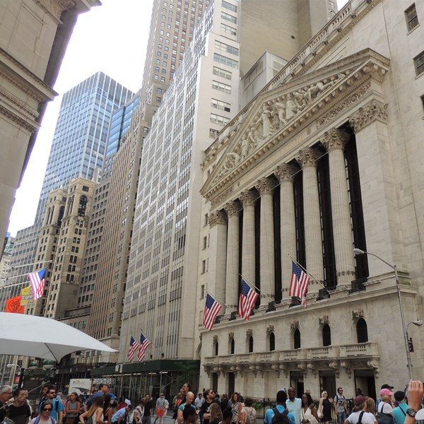 Financial District Wall Street