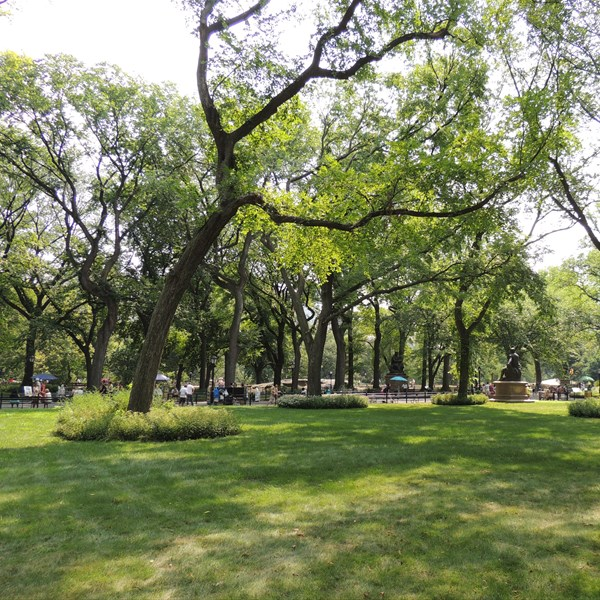 Central Park South Literary Walk