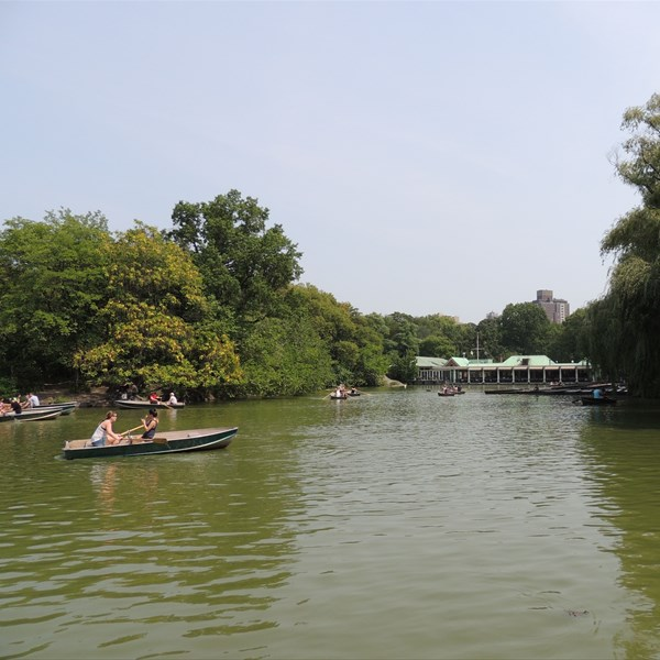 Central Park South Bathesda Lake