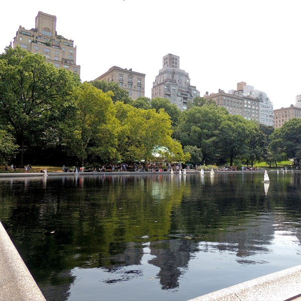 Central Park South Conservatory Water