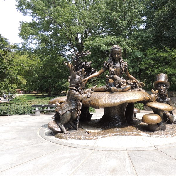 Central Park South Alice in Wonderland