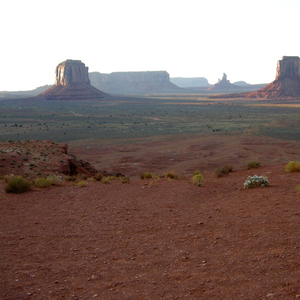 Monument Valley - The Artist's Point