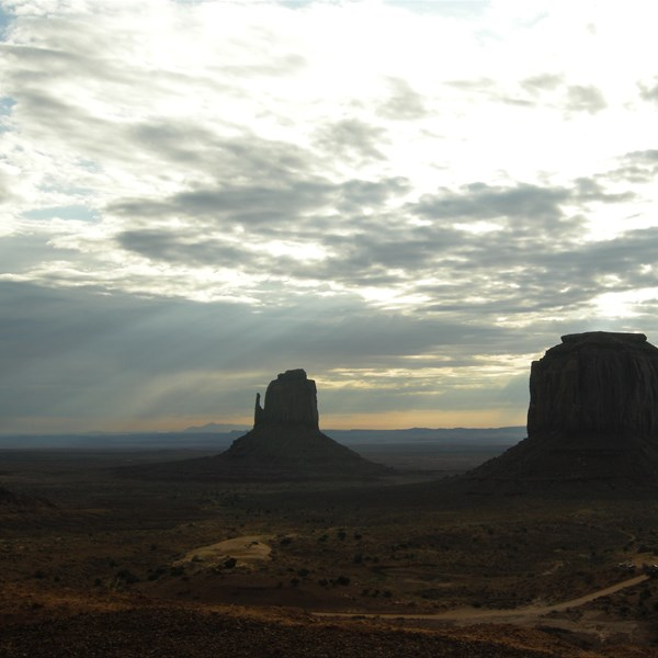 Monument Valley - L'alba alle Buttes