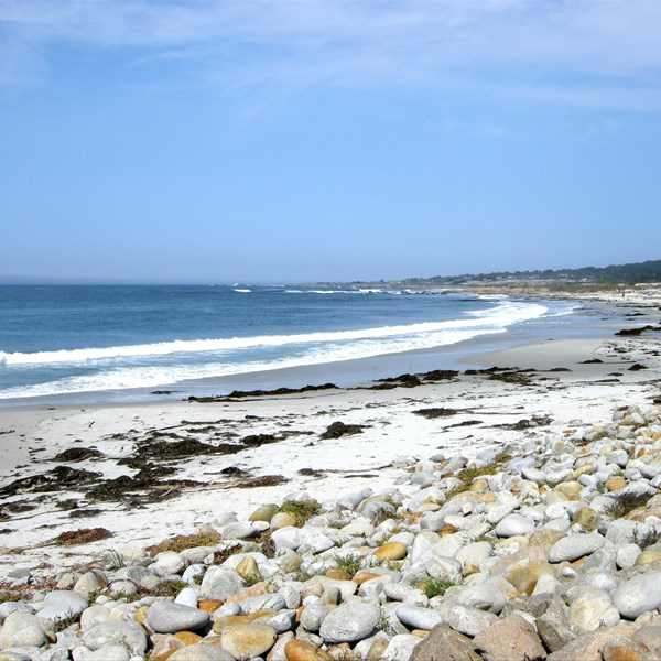 17 Mile Drive - The Beach